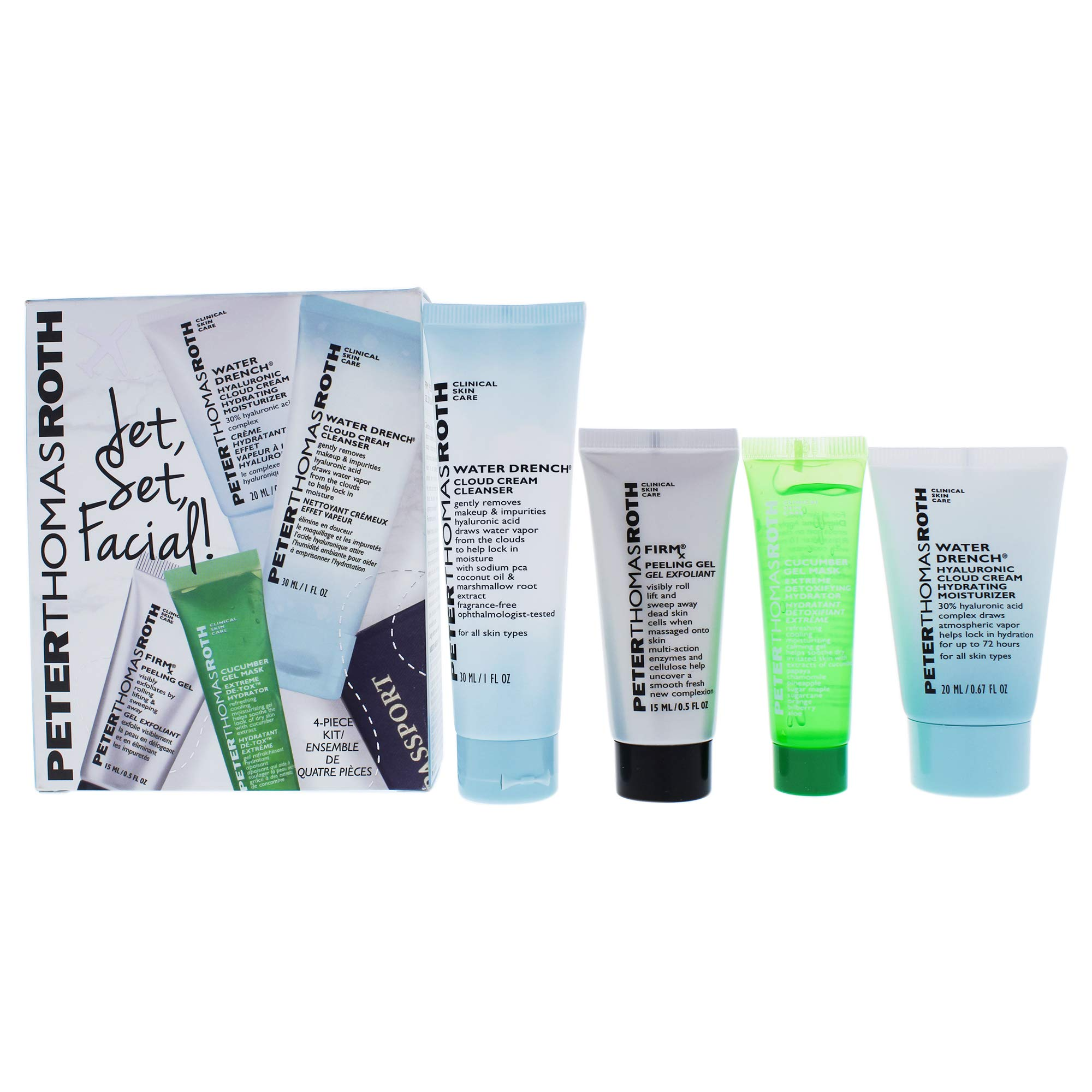 Peter Thomas Roth Jet Set, Facial Kit by Peter Thomas Roth