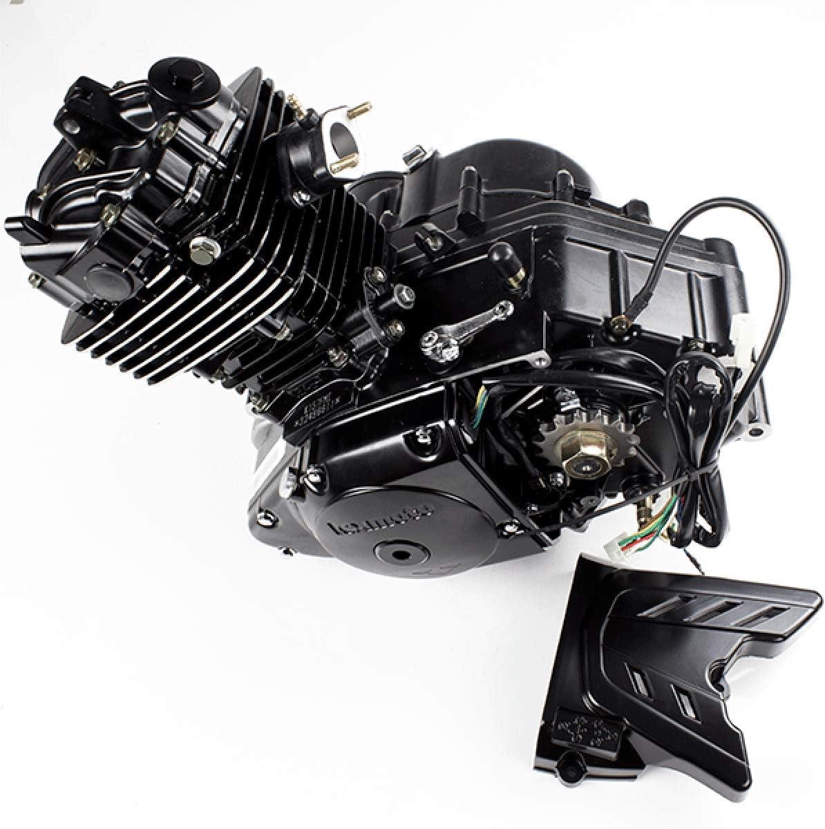 125cc Motorcycle Schwarz Motor Komplett K157fmi Mit Lexmoto Logo Eng057 057 Auto
