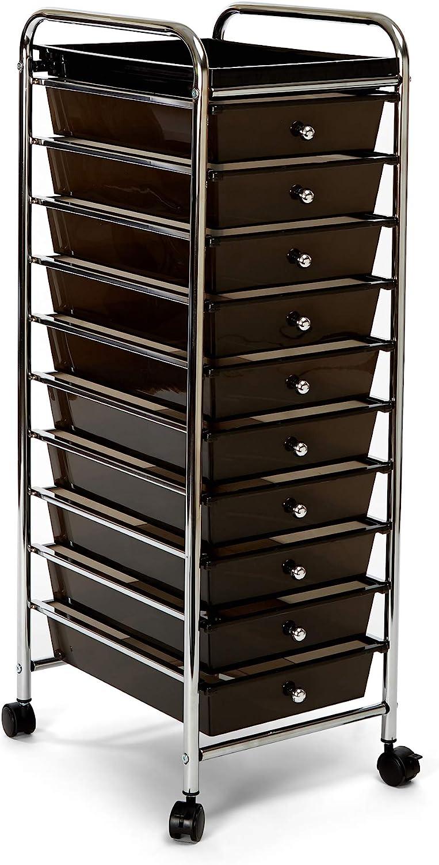 7DIPT 6 Drawers Rolling Storage Cart Organizer