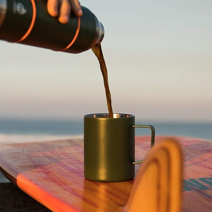 Mizu Camp Cup Stainless-Isolés en acier inoxydable tasse