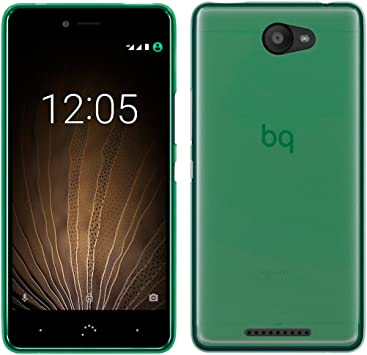 OVIphone Funda Gel TPU Para BQ AQUARIS U / U LITE (NO COMPATIBLE CON BQ AQUARIS U PLUS) (Color verde): Amazon.es: Electrónica