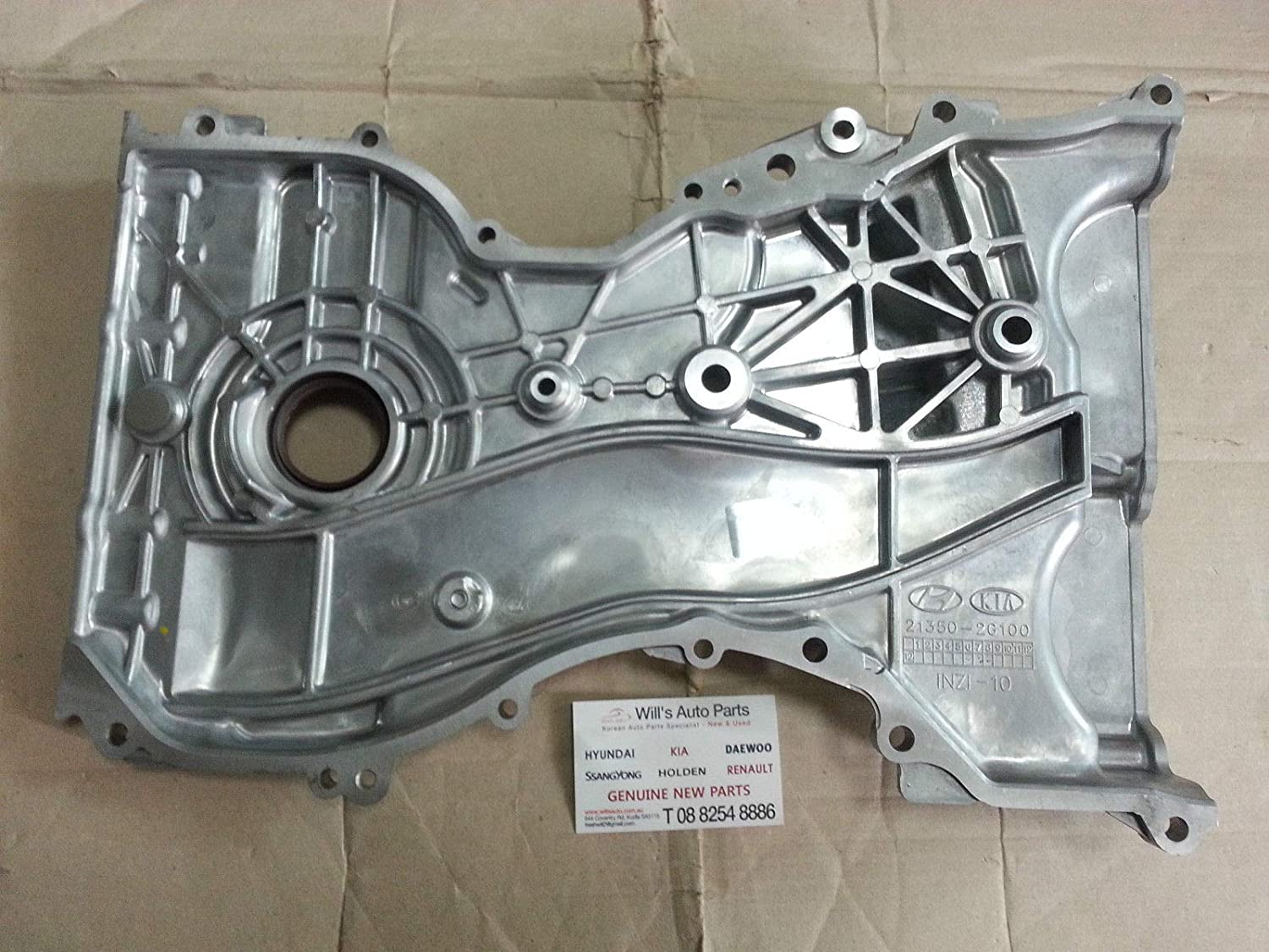 Genuine Hyundai 21350-2G100 Timing Chain Cover Assembly