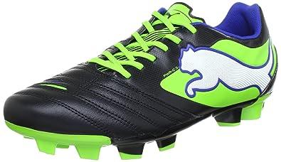 PUMA Powercat 3 FG Mens Leather Soccer Boots Cleats-Black-7.5 3c9414f4996