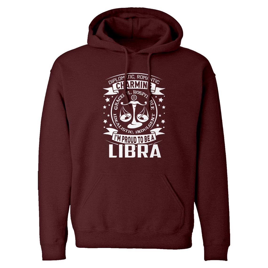 Libra Astrology Zodiac Sign Unisex Adult Hoodie