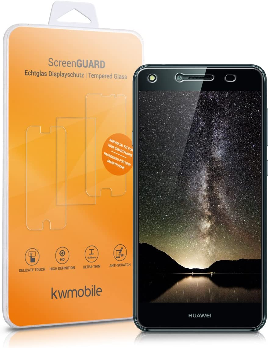 kwmobile Protector de Pantalla Compatible con Huawei Y6 II Compact ...