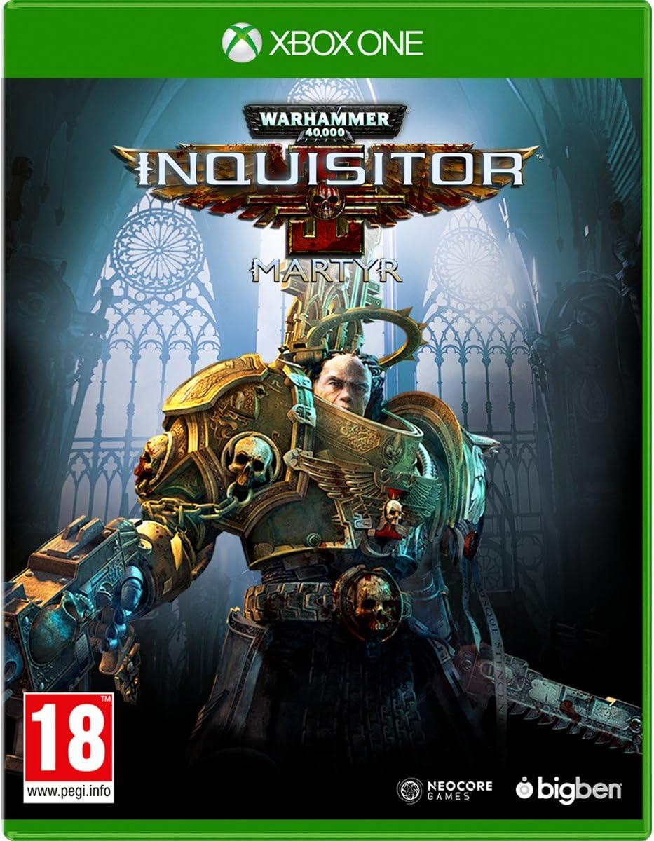 Warhammer 40,000 Inquisitor Martyr Versión Española Xbox One - Edición Estándar: Amazon.es: Videojuegos