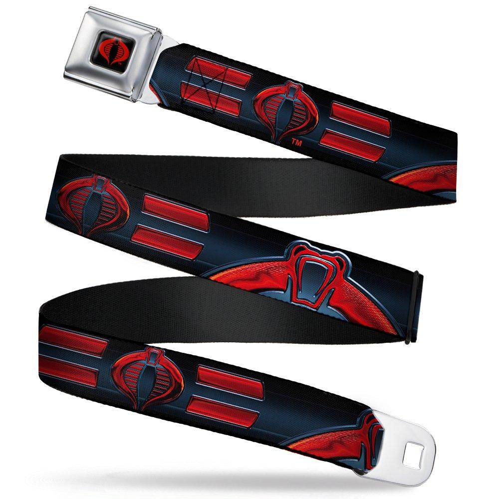 Buckle Down Men's Seatbelt Belt Gi Joe Wgij007