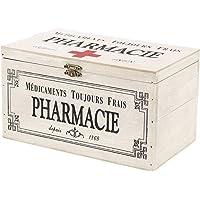 SIDCO Medicinal Buzón Madera Botiquín Primeros Auxilios Box