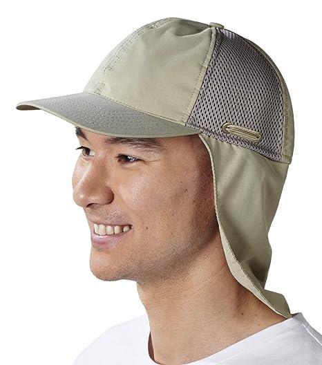 238edc88a5a3e Tilley Nylon TMBC Baseball Cap with Mesh Panels and Neck Shield  Amazon.ca   Clothing   Accessories