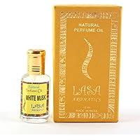 Lasa Aromatics Natural Perfume Oil White Musk Fragrance 100% Pure and Natural - 10ml by Lasa Aromatics
