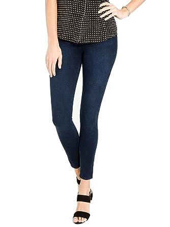 cb00817fcb6971 SPANX Women's Cut & Sew Cropped Knit Leggings at Amazon Women's Clothing  store: