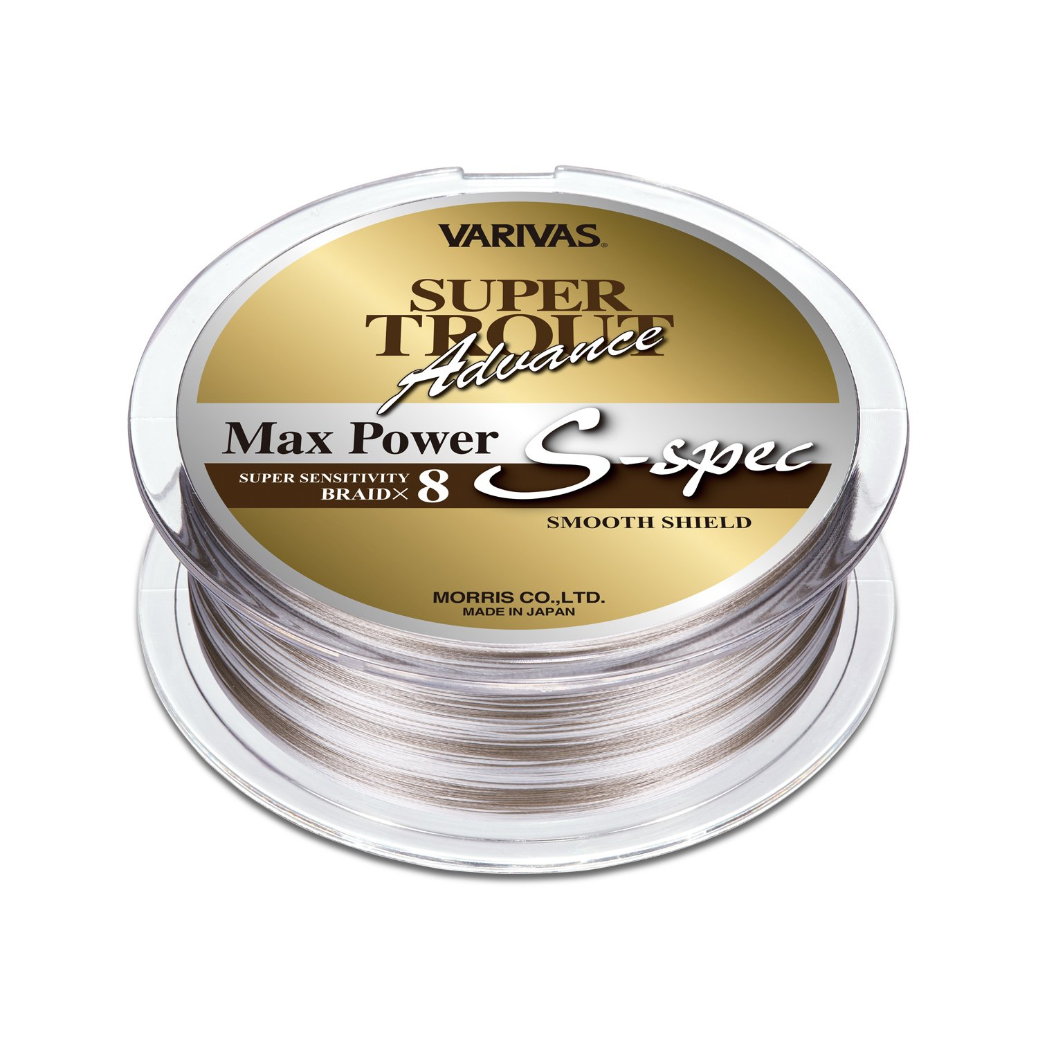Varivas Super Trout Advance Max Power Pe SSpec 200M 0.6 12.6Lb Pe Braid Line