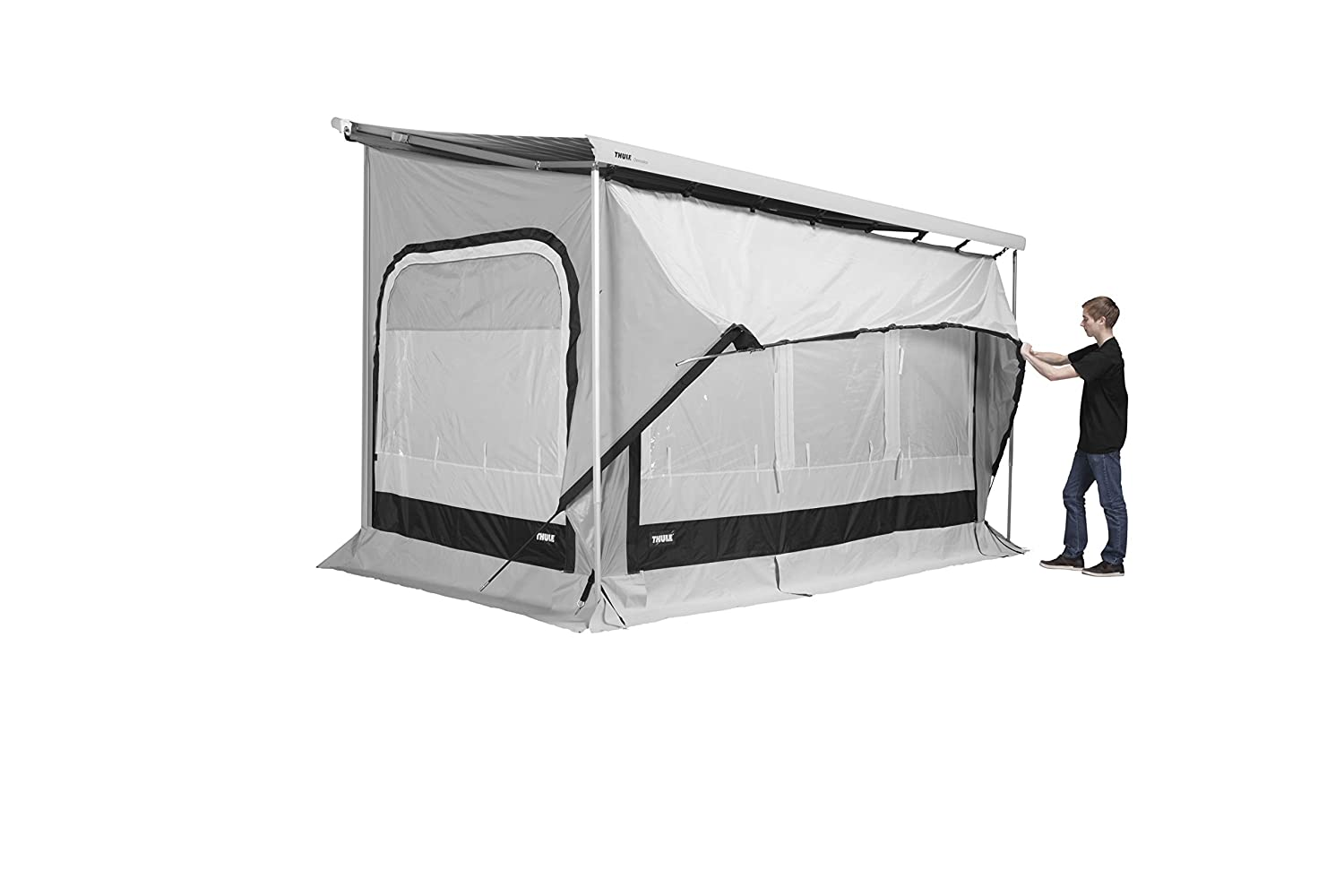 purchase cheap c9f13 ecfed Thule 309921 Quickfit 3.10 M (Medium) Awning Tent-Silver ...