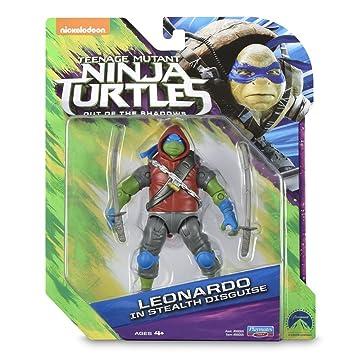 Tortugas Ninja - Figura - Leo: Amazon.es: Juguetes y juegos