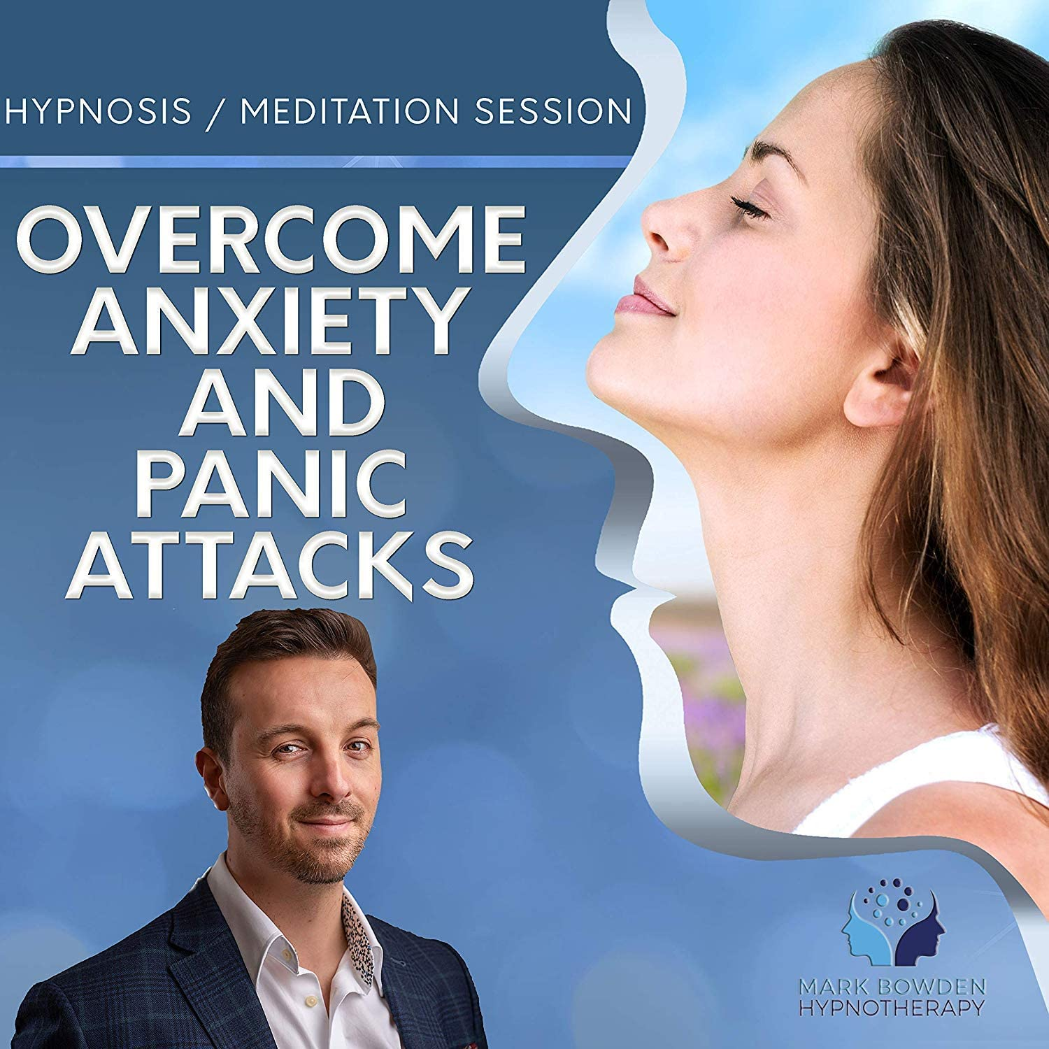 Overcome Anxiety & Panic Attacks Self Hypnosis MP3 / App and CD (3 in 1 Purchase - Sound Therapy) …