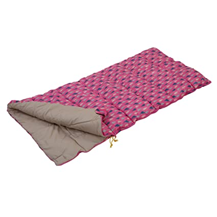 Wenzel Moose Sac de Couchage Fille S Taille Rose