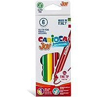 Carioca Joy Süper Yıkanabilir Keçeli Boya Kalemi 6'Li
