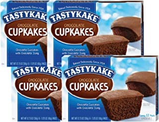 product image for Tastykake Cupkakes in Your Choice of Four Varieties Family Size 12 Pack- A Philadelphia Baking Institution (Chocolate, 4 Pack)