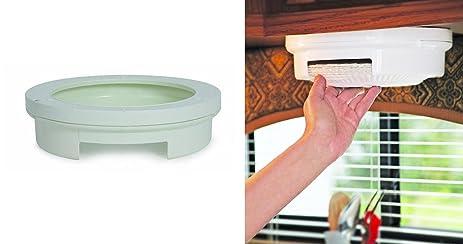 NEW Paper Plate Holder Storage Organizer Rack Dispenser Mount Under Cabinet RV Shelf  sc 1 st  Amazon.com & Amazon.com: NEW Paper Plate Holder Storage Organizer Rack Dispenser ...