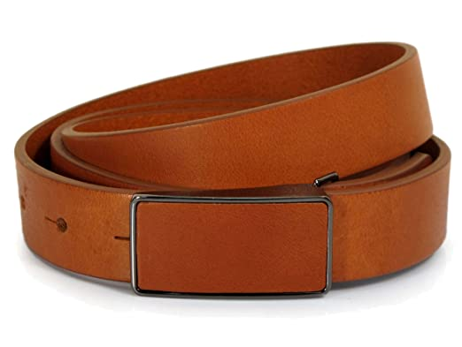 (CW3-117) Womens Tan Brown Belt 100% Real Leather Size 28 ab67c074e