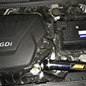 Injen IS1340P IS Series Short Ram Air Intake Kit for 2012 Veloster//Accent 1.6L