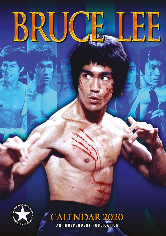 Bruce Lee Calendar - Calendars 2019 - 2020 Wall Calendars - Movie Wall Calendar - Sexy Men Calendar - Poster Calendar - 12 Month Calendar by Dream (Multilingual Edition) by Dream Publishing