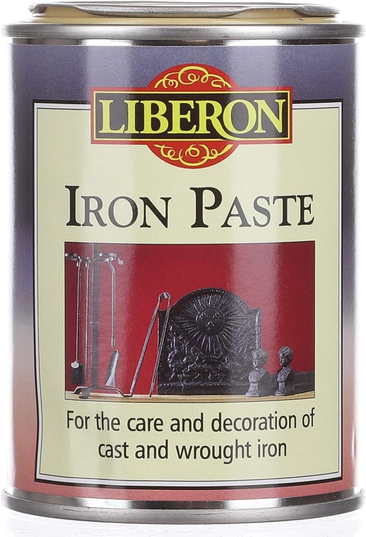 BLACK LEAD LIBERON IRON PASTE GRAPHITE CAST /& WROUGHT IRON METAL REVIVER