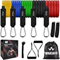 Whatafit 11-pieces Resistance Exercise Bands Set