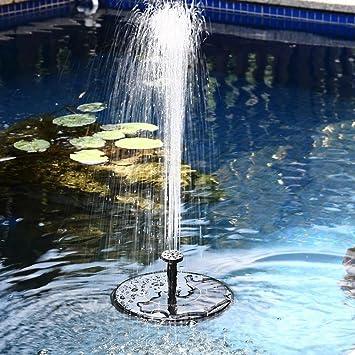 Samoleus Solar Brunnen Pumpe 7v 14w 50cm Garten Springbrunnen