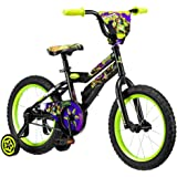 "Pacific Cycle Kid's 16"" Teenage Mutant Ninja Turtle Bike, Black"