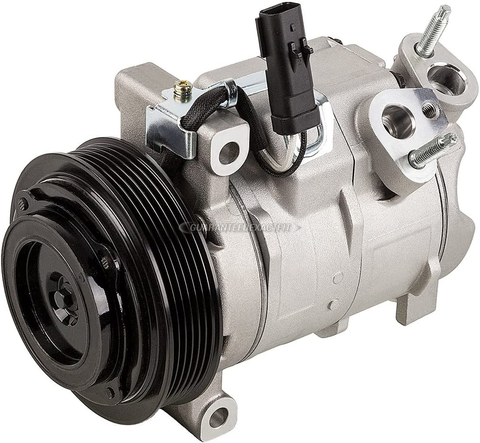 BuyAutoParts 60-89350RK New For 2009 Dodge Journey V6 w//Rear AC AC Compressor w//A//C Repair Kit