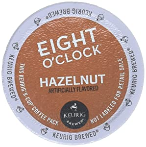 Eight O'Clock Coffee Hazelnut Coffee - 18 ct