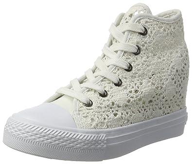 Fiorucci Fepe024, Chaussures À Femme, Blanc (bianco), 38 Eu