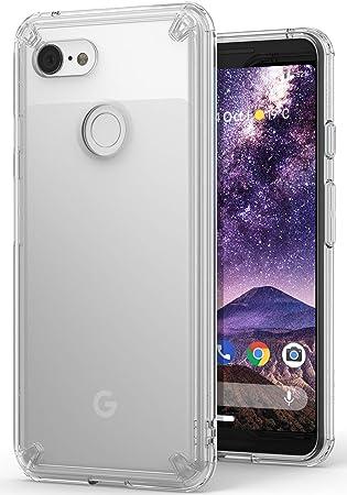 Ringke Fusion Compatible con Funda Google Pixel 3 Clear PC ...