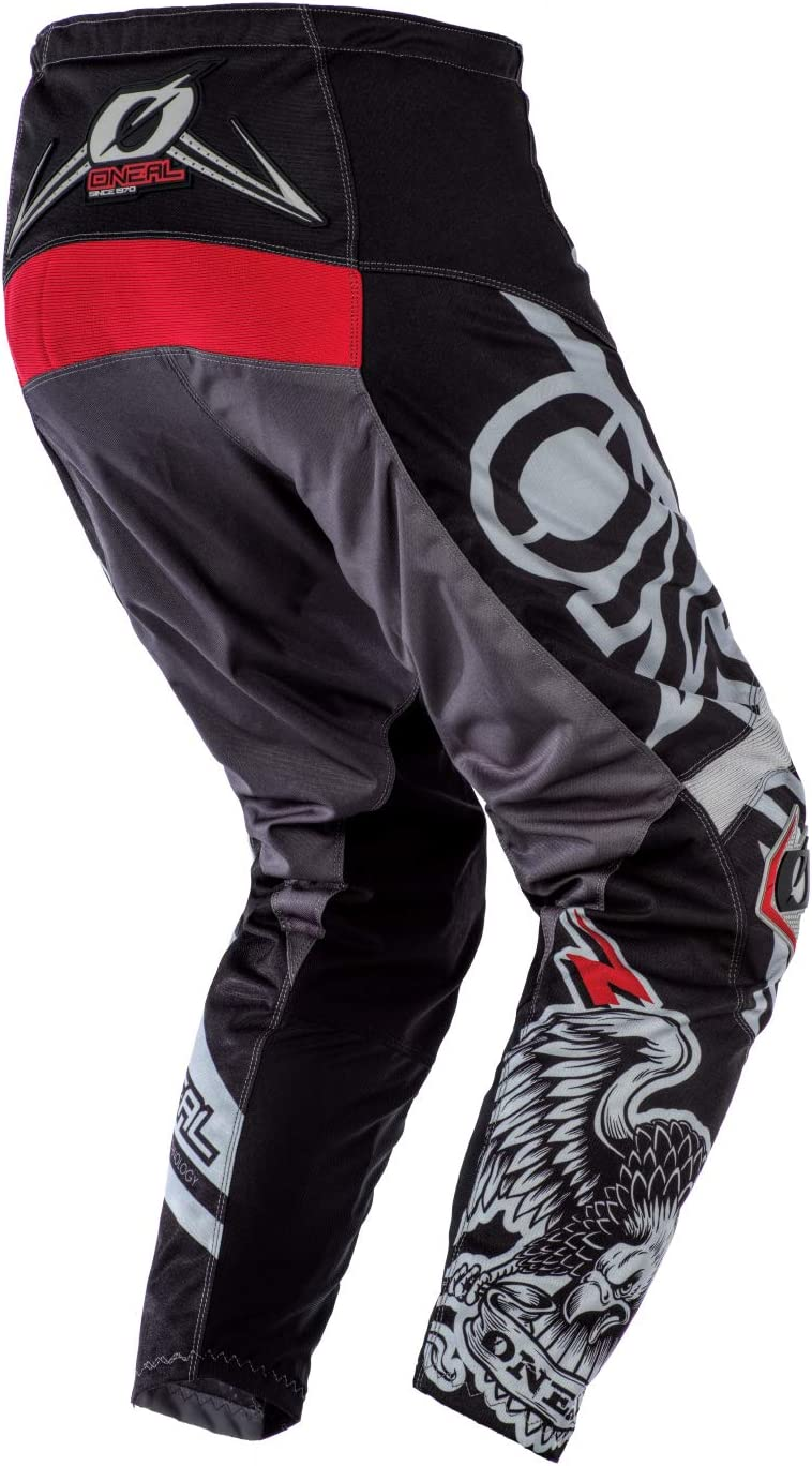 Blue//Red, 32 ONeal Element Unisex-Adult Pants