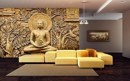 999store Indian Wallpaper Golden Buddha Hd Wallpaper Wall Murals For