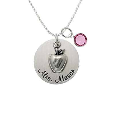 Personalized My Inspiration Sterling Silver Necklace