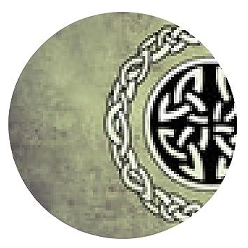 my-puzzle-design alfombrilla de ratón escudo celta. Esbozo de arte ...