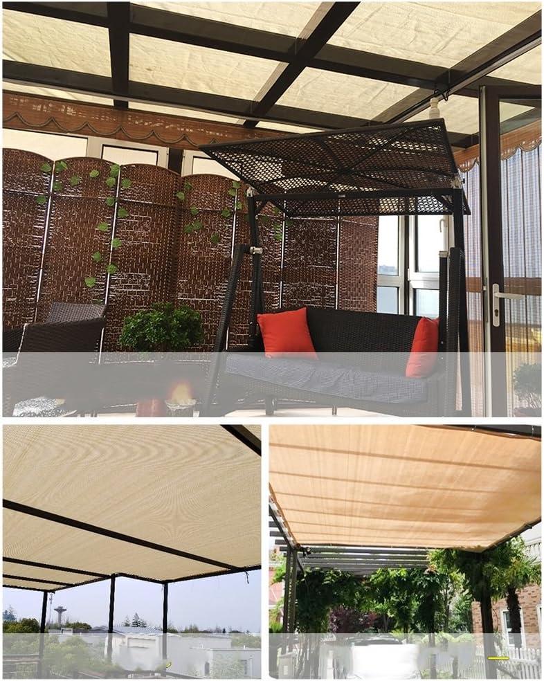 Toldos Duo Beige 90% Tela de Sombra Paño de Sombra Solar con Ojales para Cubierta de pérgola Canopy (Tamaño : 3×6M): Amazon.es: Jardín