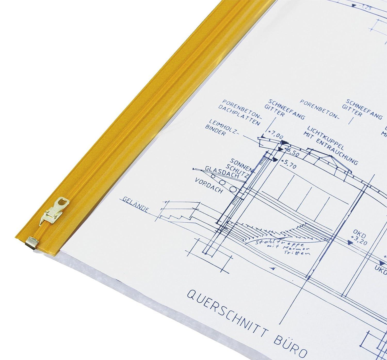 HELE Planschutztasche das Original, 5 Stück DIN A0 OverGröße - 900x1400 mm B008BHLKAI | Smart