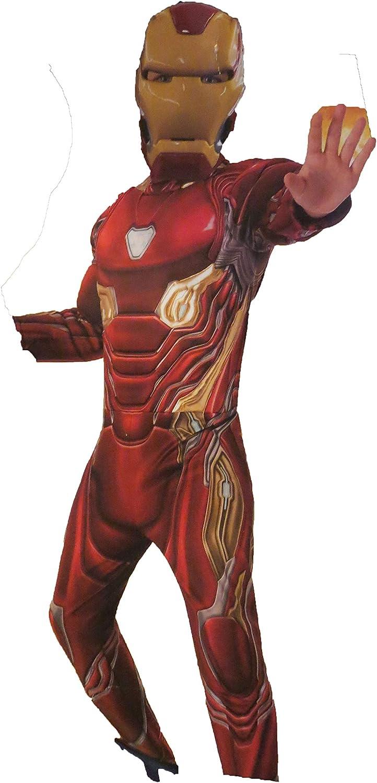 Iron Man Lady Girls Fancy Dress Marvel Avengers Superhero Film Kid Child Costume
