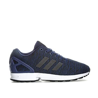 224bf3cec6e67 adidas Mens Originals Men s ZX Flux Trainers in Navy - UK 12  Amazon ...