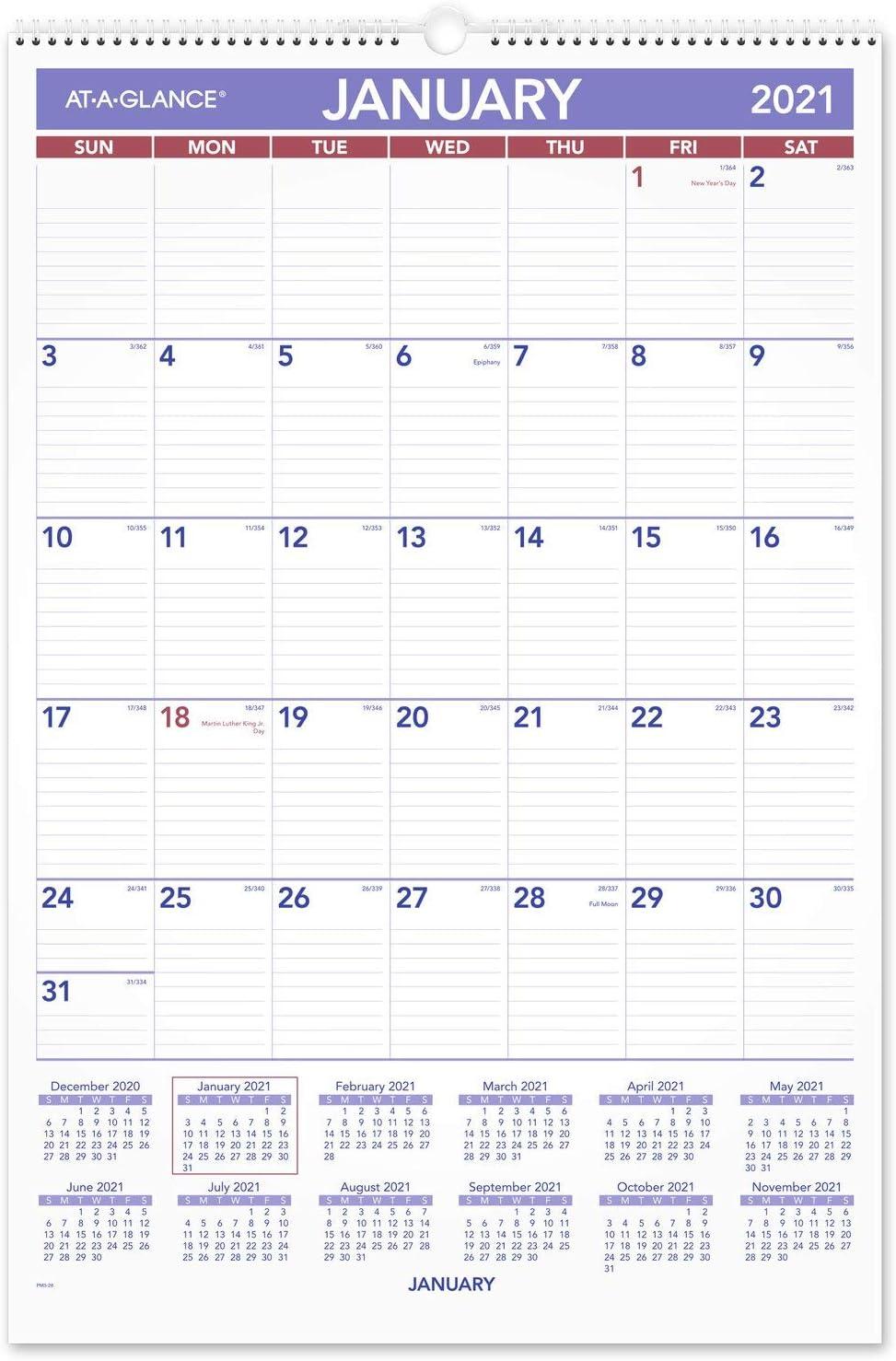 2021 Merica Wall Calendar