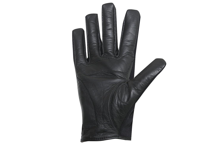 Negro XL Windsoroyal Guantes de verano Walmer para hombre
