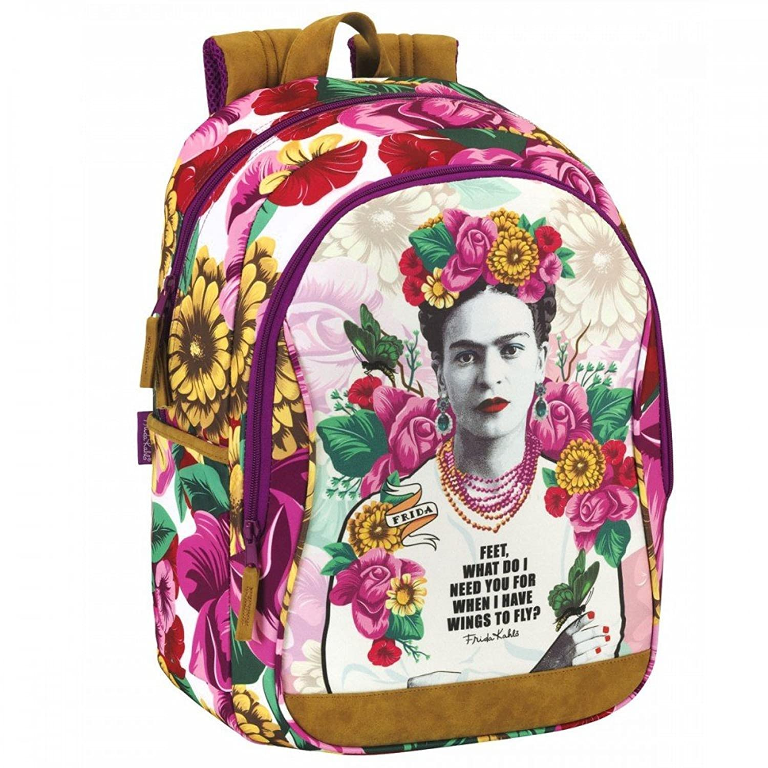 Frida Kahlo Backpack Daypack Multipurpose Great Quality ...