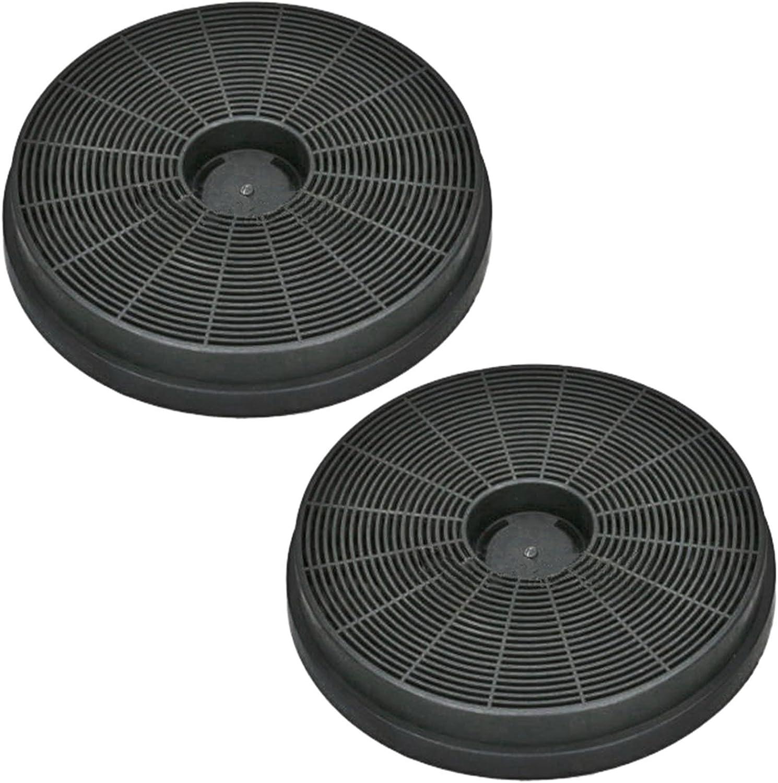 Spares2go filtre da/ération /à charbon actif pour hotte aspirante Stoves lot de 2