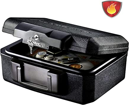 Master Lock L1200 Caja Fuerte Portatil Ignifuga con Llave Small ...