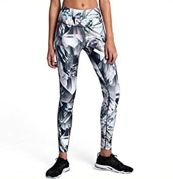 13018631711f1 Nike Womens Legend Fitness Running Athletic Leggings Gray XS at Amazon  Women's Clothing store: