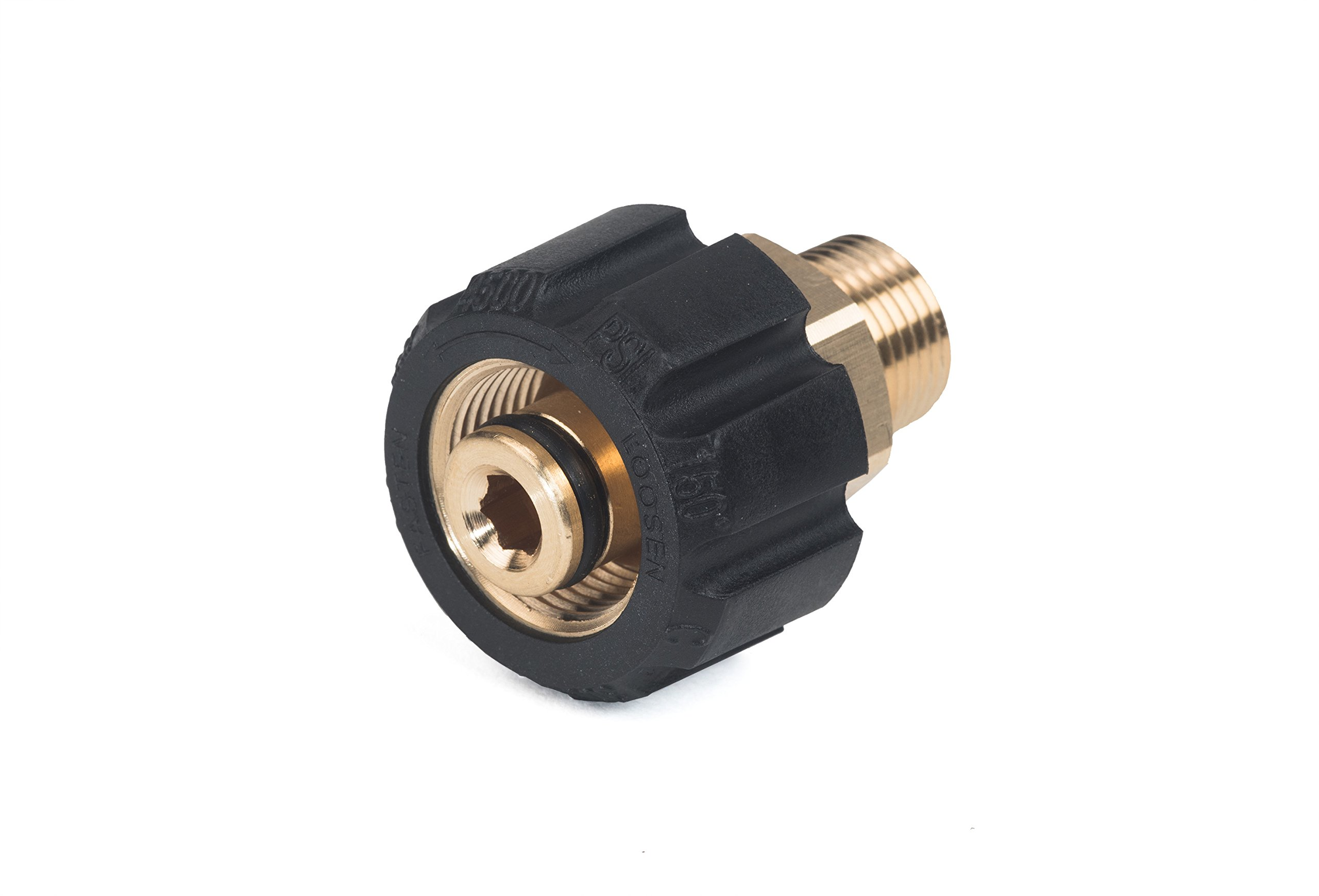 Karcher M22 3/8 Male Swivel Nut Replacement for Gas Pressure Washers