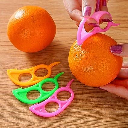 Naranja pelador, xinxinyu naranja abridor Peeler herramienta de cocina Home fruta Peeler